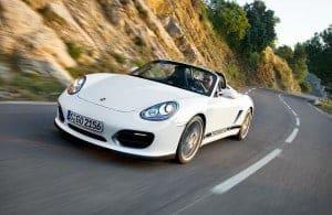 Porsche Boxter Spyder vorn