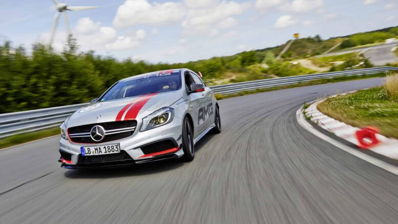 AMG Driving Academy, A 45 AMG, 2013