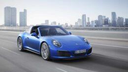Porsche 911 Carrera 4 und 911 Targa 4 mit Turbomotoren und neuem Allrad-Antrieb