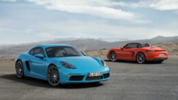 718 Cayman S und 718 Boxster S