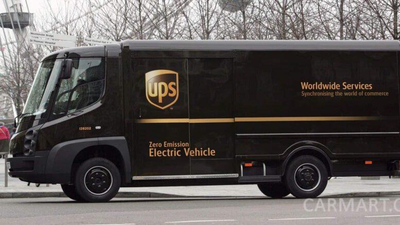 UPS Elektrotransporter