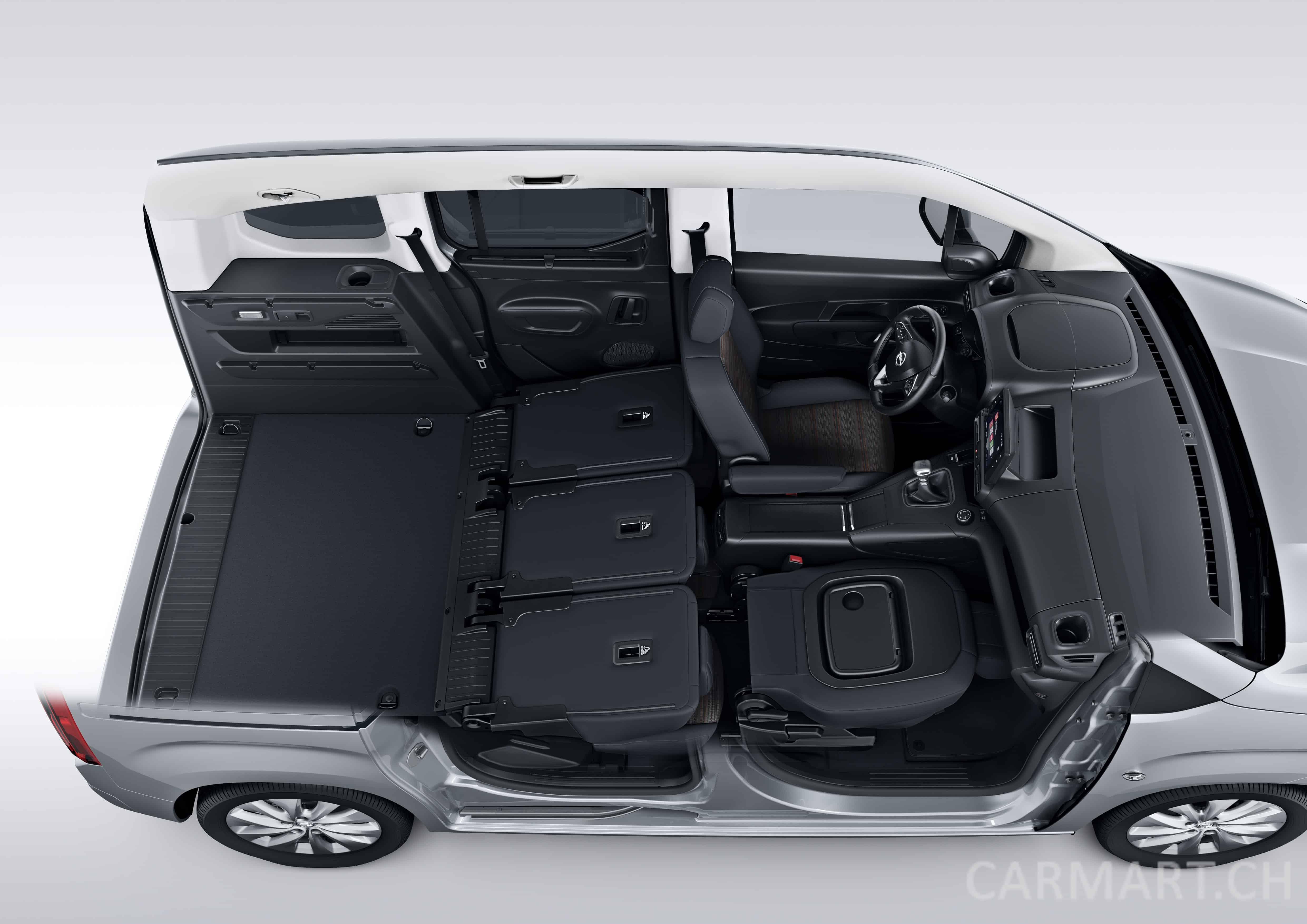 2018 Opel Combo Life Platzangebot