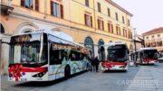 BYD Elektrobus in Padua Italien