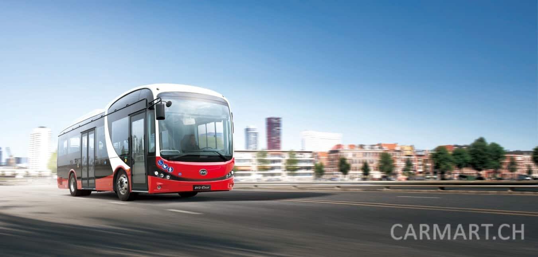 BYD 8.7M reiner elektrischer Bus