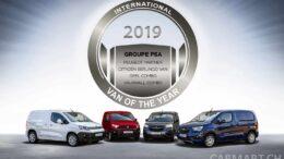 International Van of the Year 2019: Groupe PSA K9 Delivery Van