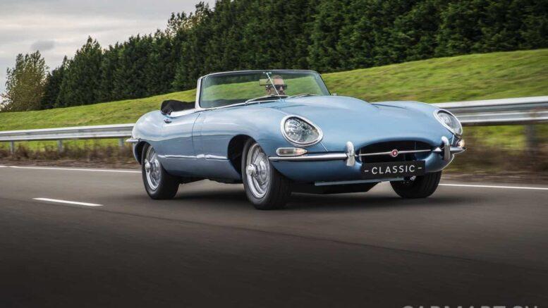 Jaguar E Type Zero Das Schonste Elektrische Auto Der Welt