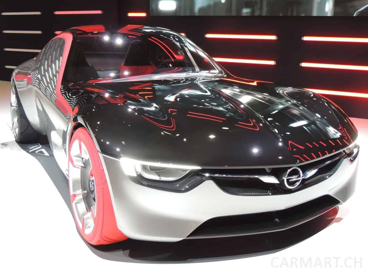 Opel GT Concept Genf 2016