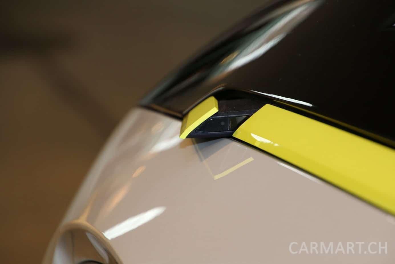Opel GT X Experimental Aussenspiegel als ausklappbare Kamera