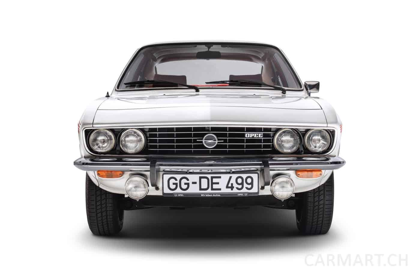 Opel Kompass & Vizor im Opel Manta von 1970