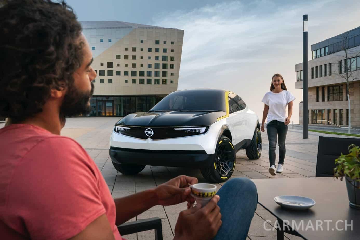 Opel GT X Experimental - Vorlage für zukünftige Opel Modelle