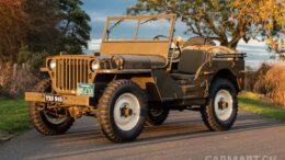 Steve McQueens Willys Jeep