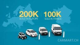 2019 - Renault verkauft 200'000 Elektroautos