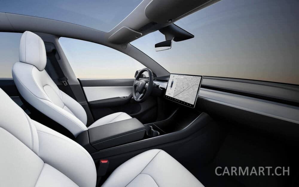 Tesla Model Y Innenraum