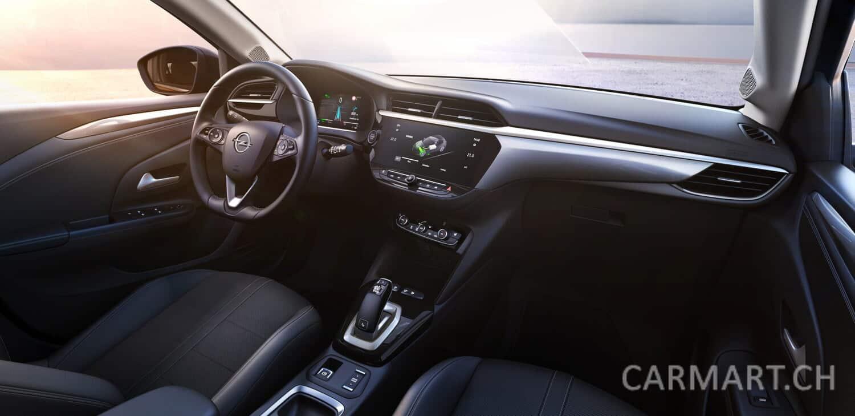 Opel Corsa-e Innenraum