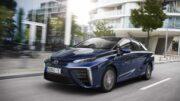 Toyota Mirai Wasserstoff Auto