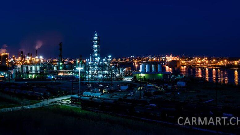 Benzinproduktion