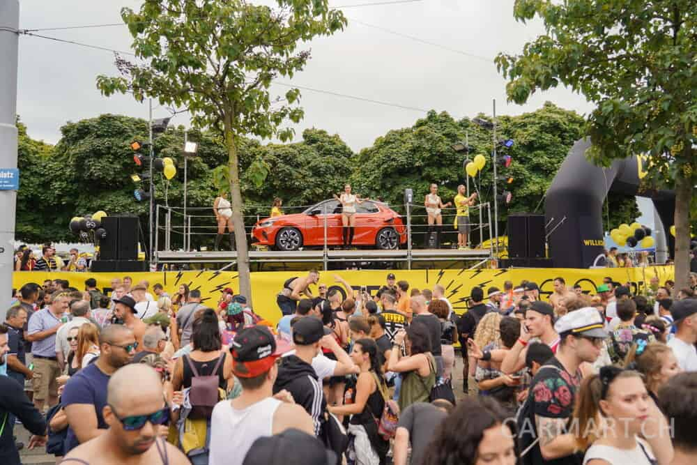 Street Parade 2019 Opel