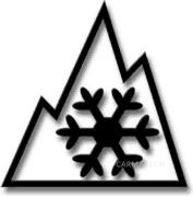 Three Peak Mountain Snow Flake
