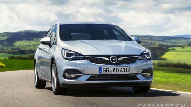Opel Astra 2019 Landstrasse