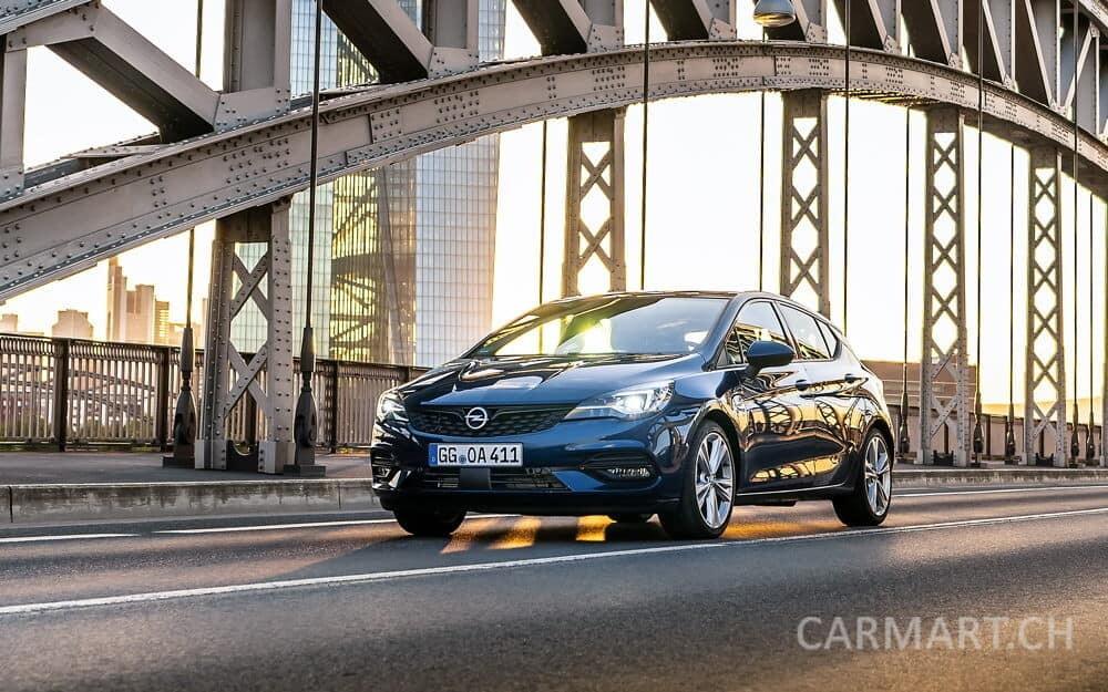 Opel Astra 2019 Brücke