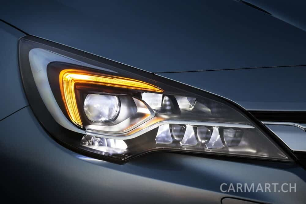 Opel Astra IntelliLux LED Matrix Licht