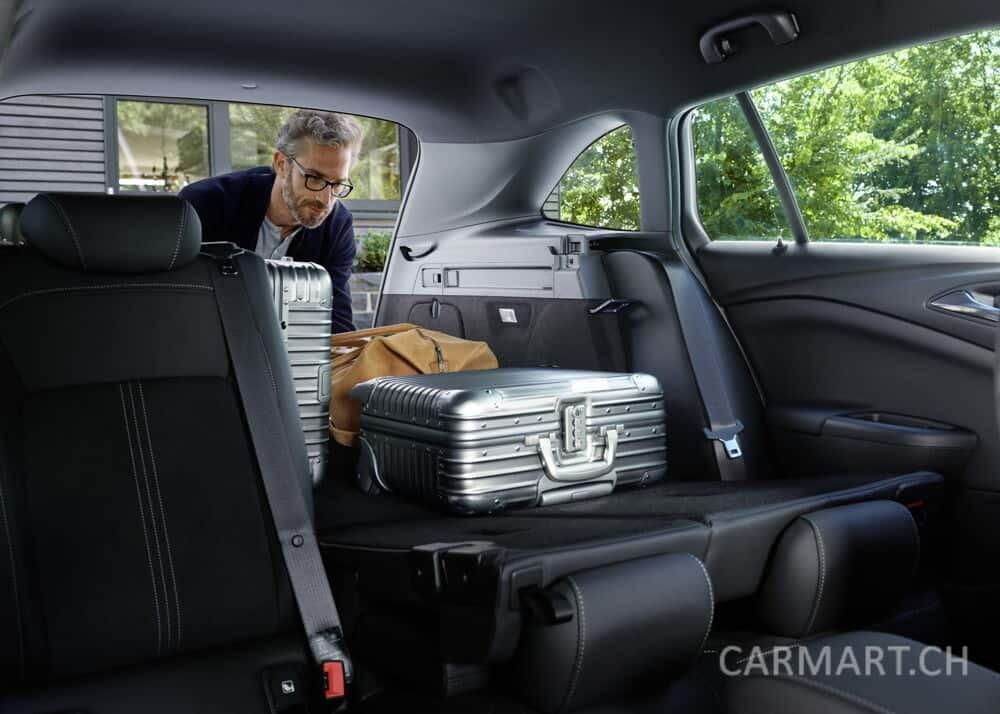 Opel Astra Gepäck