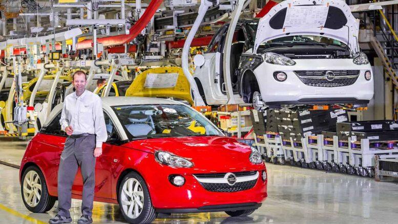 Opel Adam Produktion Eisenach