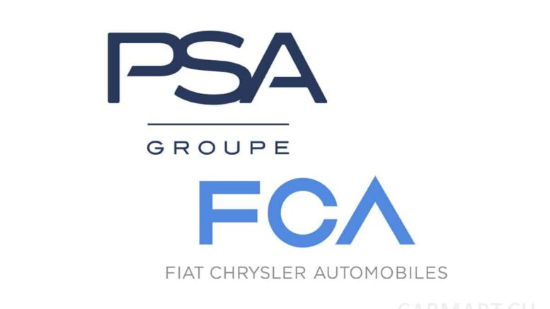 PSA FCA Logo