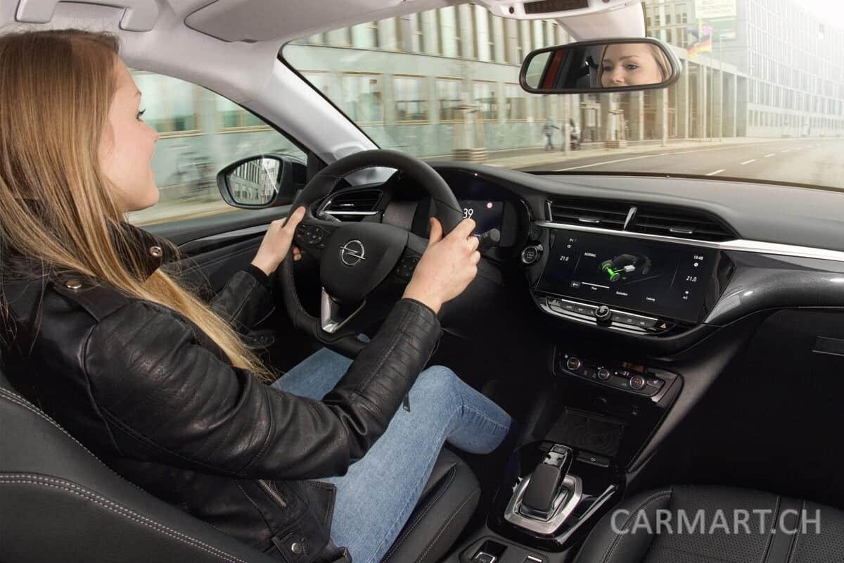 Der neue Opel Corsa-e Testfahrt
