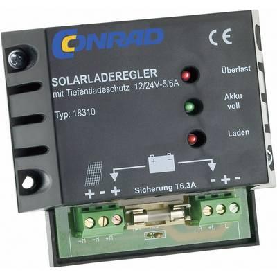 18310 Laderegler PWM 12 V, 24 V 6 A