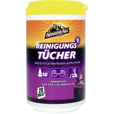 ArmorAll 87020L Clean-Up Wipes Reinigungstücher 20 St.