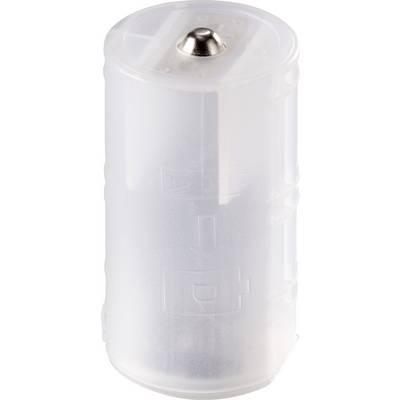 Basetech 2x Mignon to Mono BT-Box-006 Batterieadapter