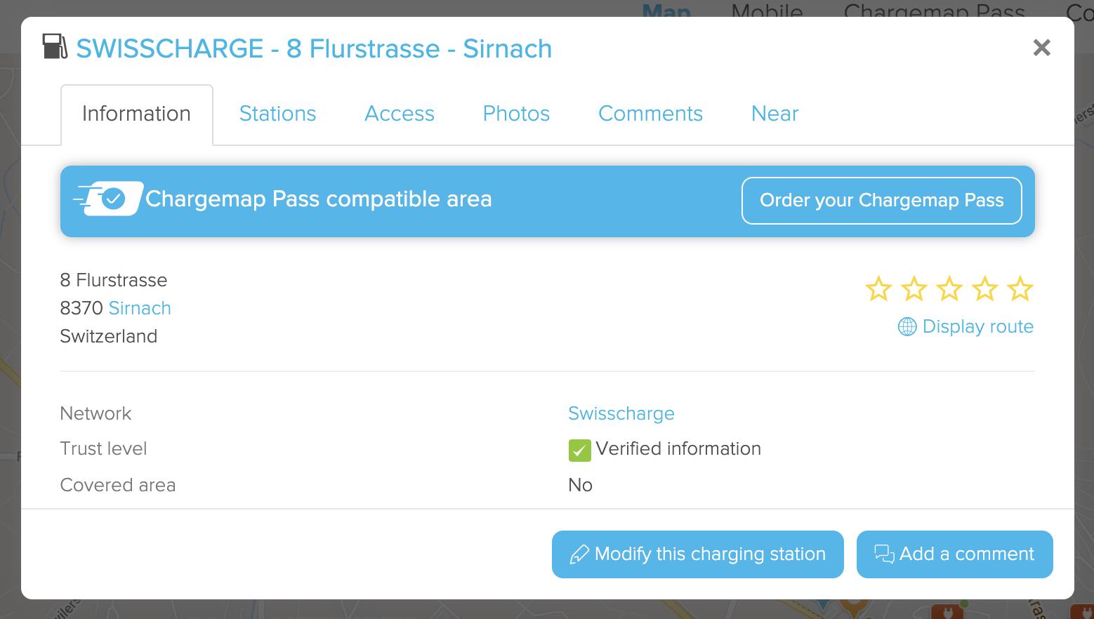 Ladestation Swisscharge Sirnach