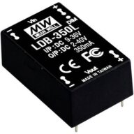 DC/DC-LED-Driver Mean Well LDB-350L 350 mA 14 W