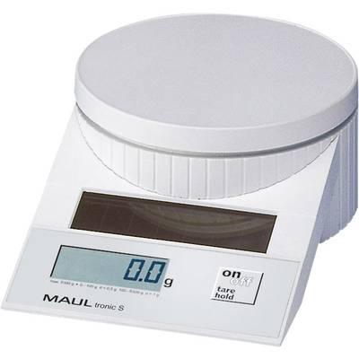 Maul MAULtronic S 5000 Briefwaage Wägebereich (max.) 5 kg Ablesbarkeit 2 g, 5 g Weiß