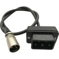 batterytester Plug & Play-Kabel AT00086 Adapter-Kabel Passend für Cortina Ecomo, Bikkel Bikes und Venturelli