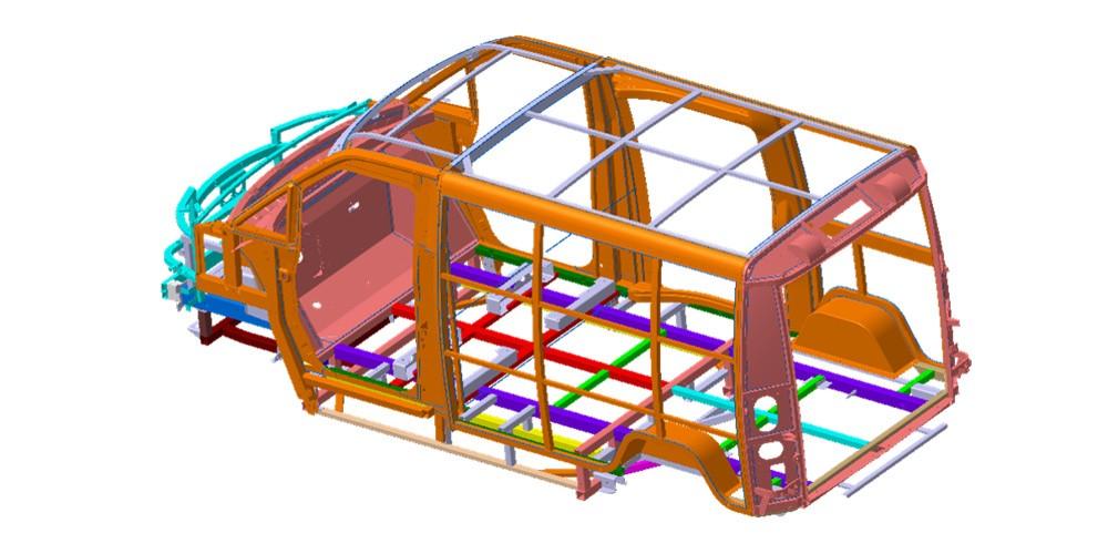 eDeliver 3 - Leichtbau-Konstruktion