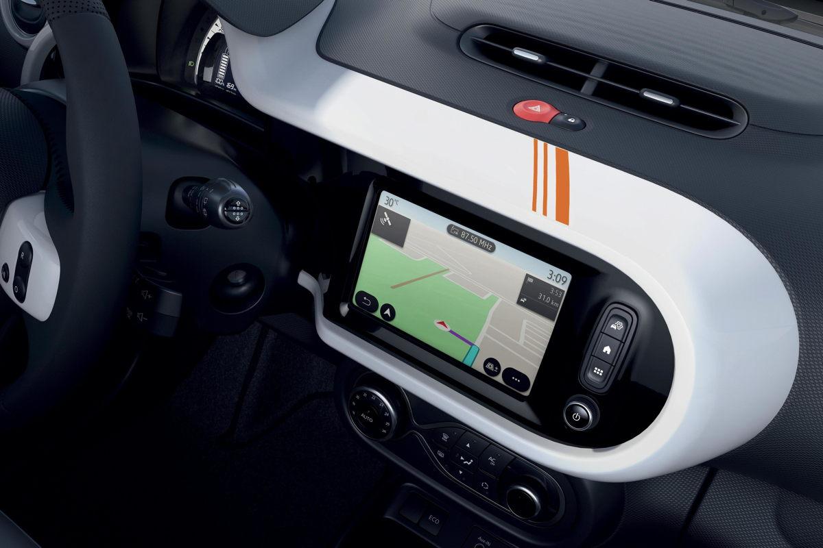 Renault Twingo Electric Vibes Konnektivität