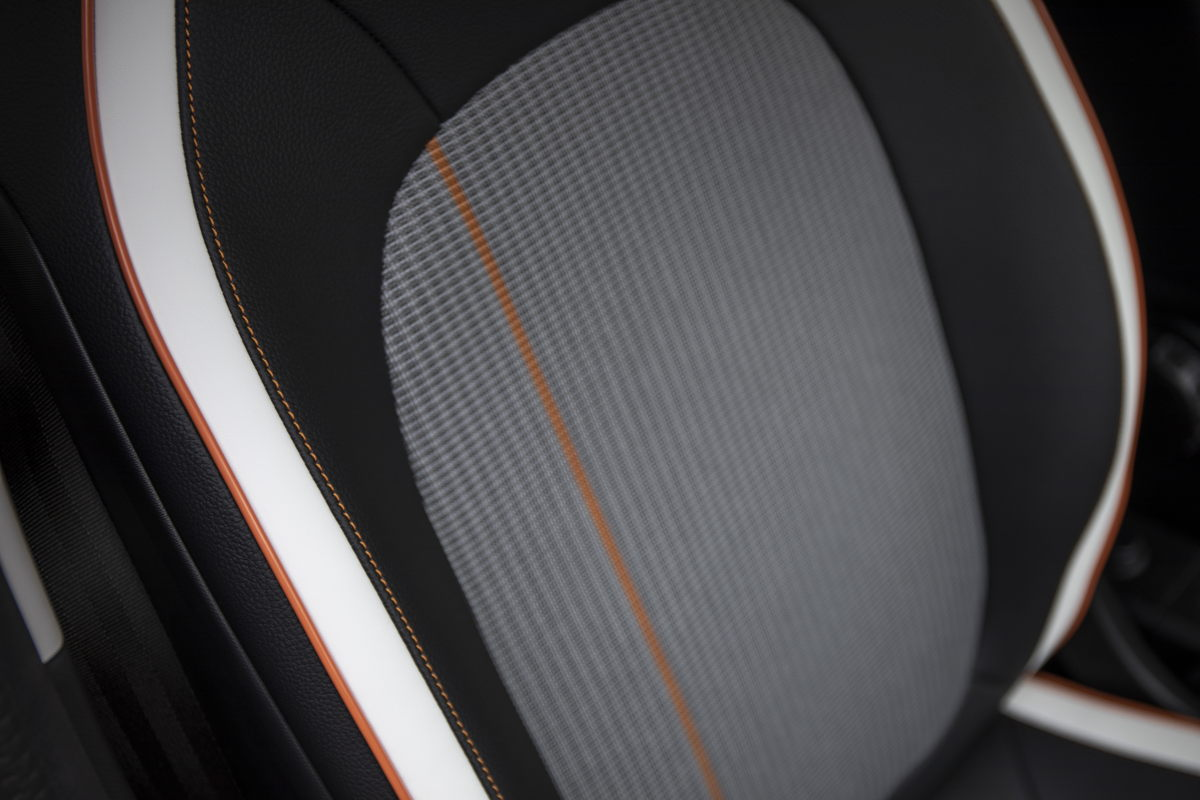 Renault Twingo Electric Vibes Sitze