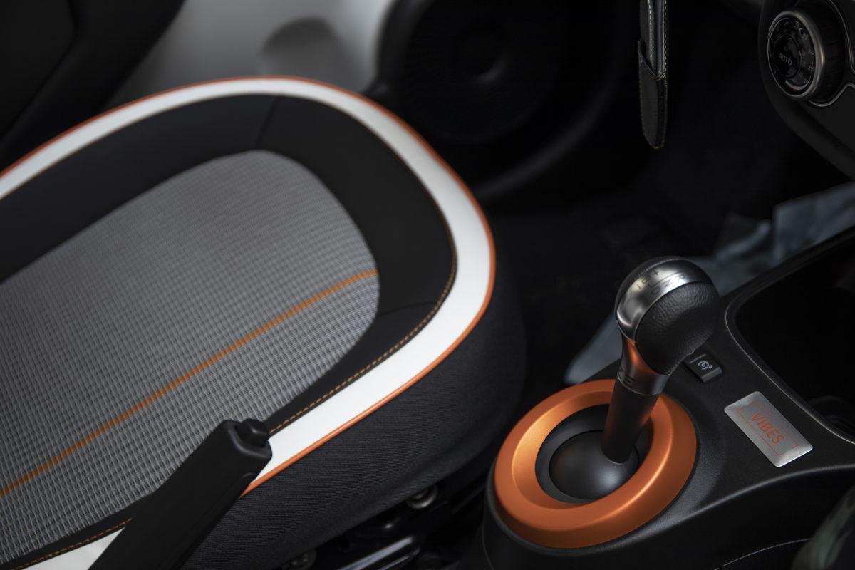 Renault Twingo Electric Vibes Schalthebel