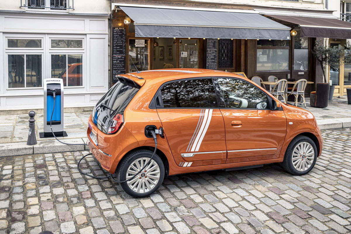Renault Twingo Electric Vibes Fahrmodi