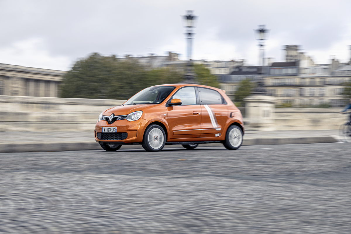 Renault Twingo Electric Vibes Fahrgefühl