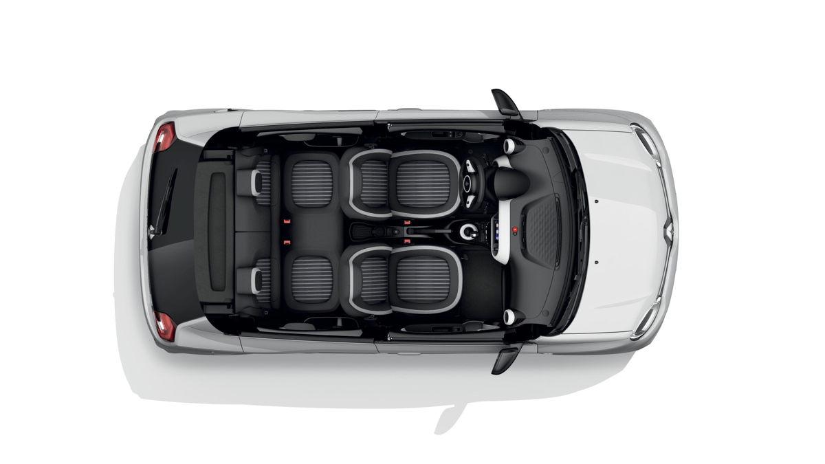 Renault Twingo Electric Vibes Innenraum