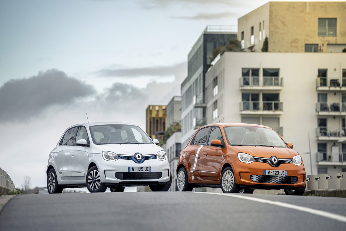 Renault Twingo Electric und Sondermodell Vibes