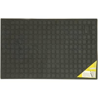 74575 Fußschalenmatte Passend für: Universal Gummi (L x B) 41 cm x 60 cm Schwarz