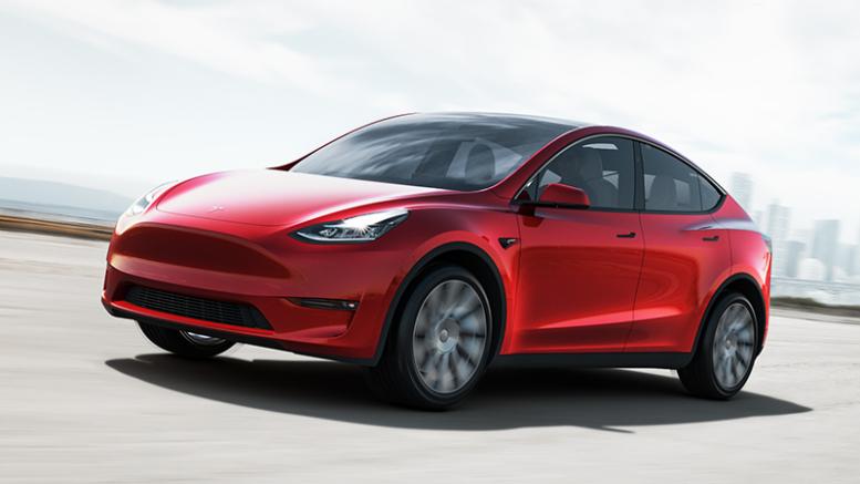 Tesla Model Y Sicherheitstest