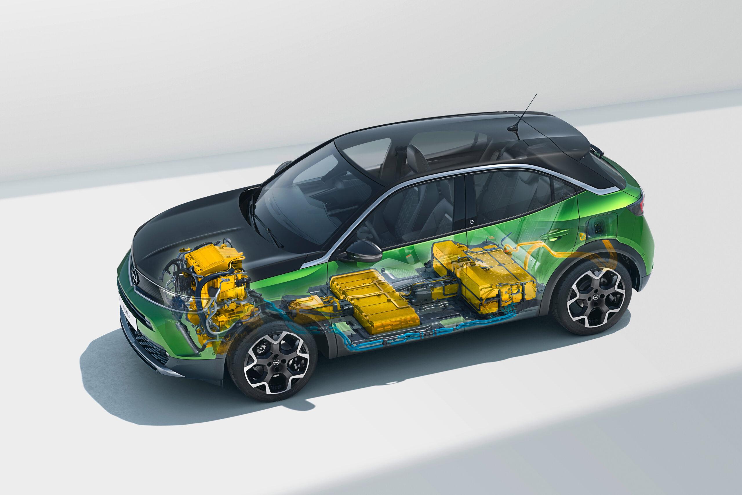 Opel Mokka-e Batterie