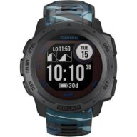 Garmin Instinct Solar Surf Smartwatch 45 mm Platin-Grau