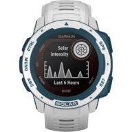 Garmin Instinct Solar Surf Smartwatch 45 mm Silber/Anthrazit