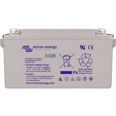Victron Energy Blue Power BAT412600104 Solarakku 12 V 66 Ah Blei-Gel (B x H x T) 258 x 235 x 166 mm M8-Schraubanschluss